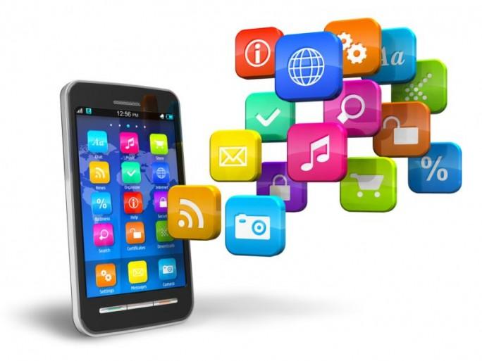 Apps auf Smartphone (Bild: Shutterstock / Oleksiy Mark)