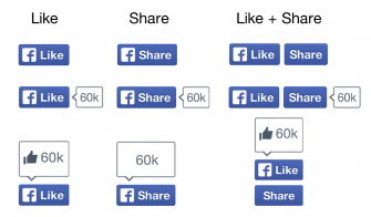 facebook-buttons-like-share-ohne-daumen