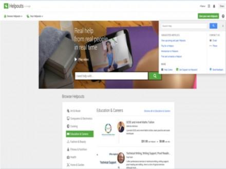 Google Helpouts bietet Hilfesuchenden videobasierte, interaktive Expertenunterstützung an. (Screenshot: ITespresso.de)