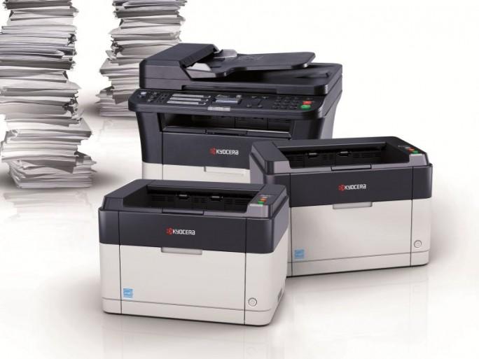 Kyocera-FS-1041 , FS-1061DN und FS-1325MFP (Bild: Kyocera)