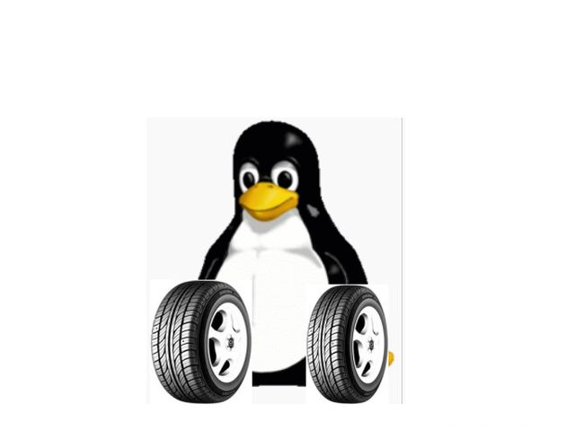Linux mit Reifen