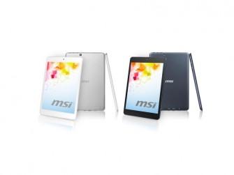 Das Tablet Primo 81 von MSI wiegt nur 330 Gramm. (Bild: MSI)