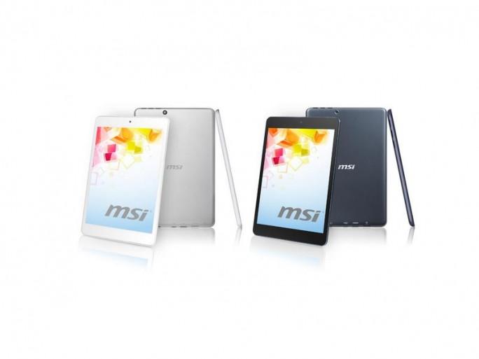 Das Tablet Primo81 von MSI wiegt nur 330 Gramm. (Bild: MSI)