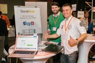Die Socialhub-Gründer (Foto: Evobis)