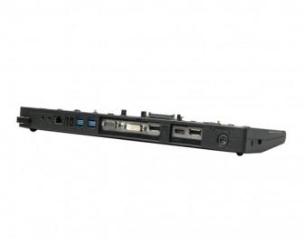 Am Hi-Speed Port Replicator III lassen sich bis zu vier Bildschirme gleichzeitig betreiben (Bild: Toshiba).