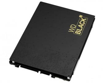 Die 299 Euro teure WD Black² vereint eine 120-GByte-SSD sowie eine 1-TByte-HDD in einem 2,5-Zoll-Gehäuse (Bild: WD).