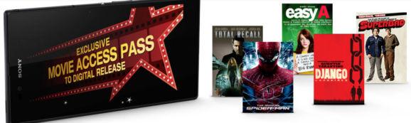 Xperia Movie Access Pass