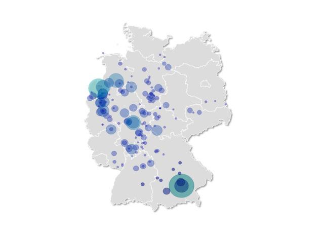 Citymarker Heatmap