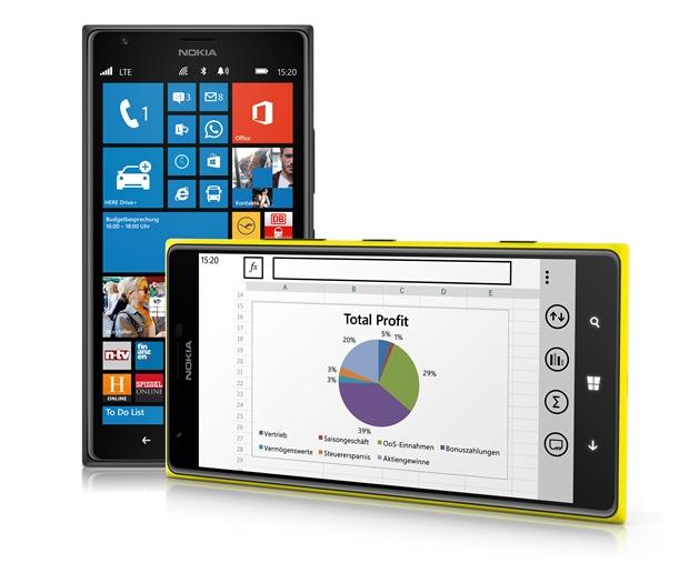 Windows Phone ist nicht nur sicher, sondern bietet auch bequemen Zugang zu allen Office-Dokumenten. (Foto: Microsoft)