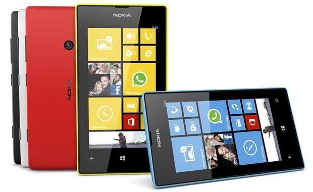 Neben einigen Samsung-Smartphones arbeiten auch die Nokia-Lumia-Handys mit Windows Phone (Foto: Microsoft/Nokia).