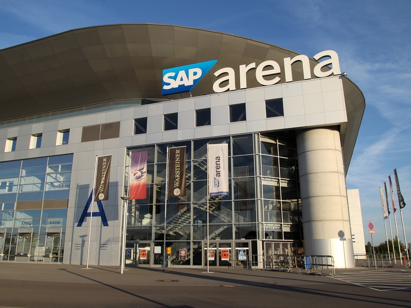 sap arena in mannheim bietet nun kostenloses wlan. Black Bedroom Furniture Sets. Home Design Ideas
