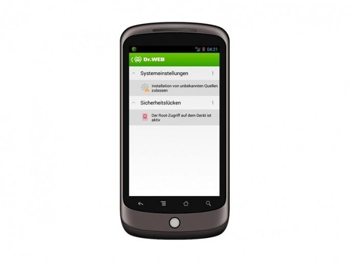 Dr.Web für Android 9.0 (Bild Doctor Web)