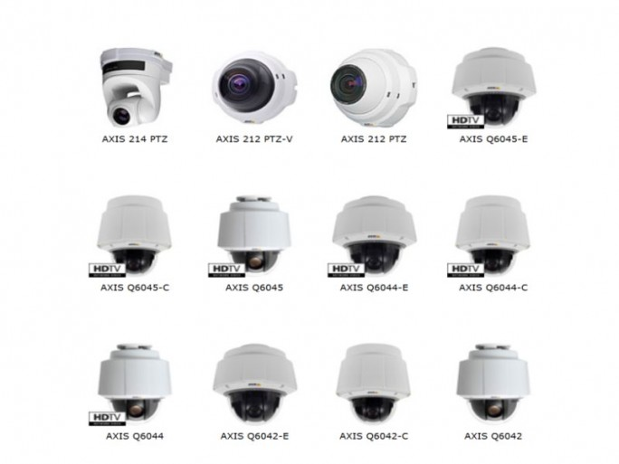 Axiscams Q60-Serie