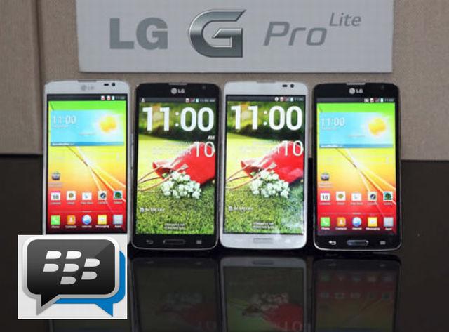 LG G Pro Lite mit BBM