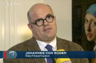 Johannes von Rüden im RTL Nachtjournal
