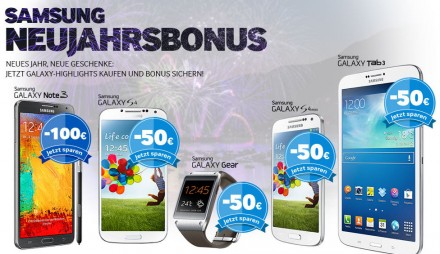 Samsung-Neujahrsbonus