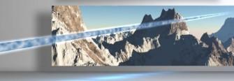 Schnelle Kommunikation per Laserstrahl erlaubt etwa der Bergwacht, Informationen auszutauschen, ohne sich um eine Funkerlaubnis kümmern zu müssen. (Bild: Vialight)