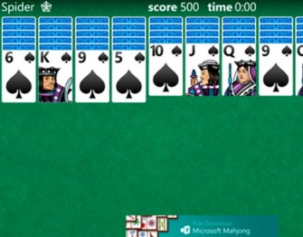 Solitaire für Windows Phone 8