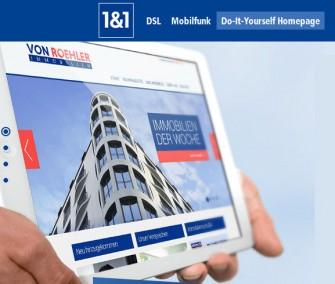 1&1-DIY-Homepage