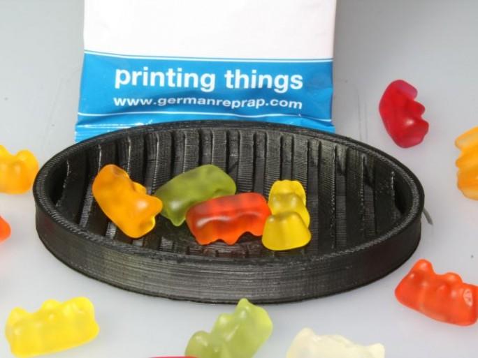 Filament für lebensmittelkonformen 3D-Druck (Bild: German RepRap)