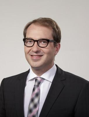 Minister Dobrindt (Foto: Henning Schacht)
