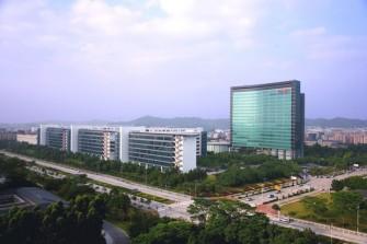 Die Firmenzentrale von Huawei in Shenzhen. (Foto: Huawei)