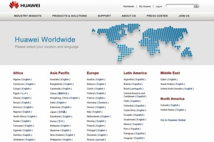 Der IT-Riese Huawei ist nicht nur in China, sondern in mehr als 140 Ländern präsent.