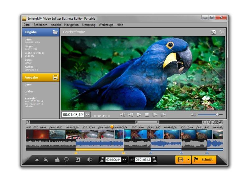 Video Splitter 4.0 bearbeitet Flash-Videos Frame-genau - ITespresso.de