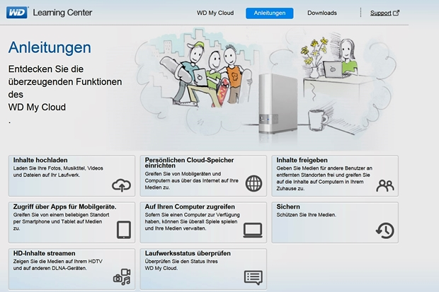 WD My Cloud Learning Center