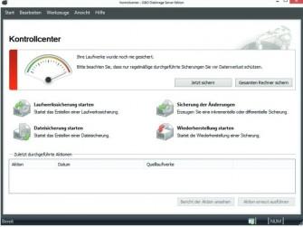 O&O DiskImage 8 Server Kontrollcenter