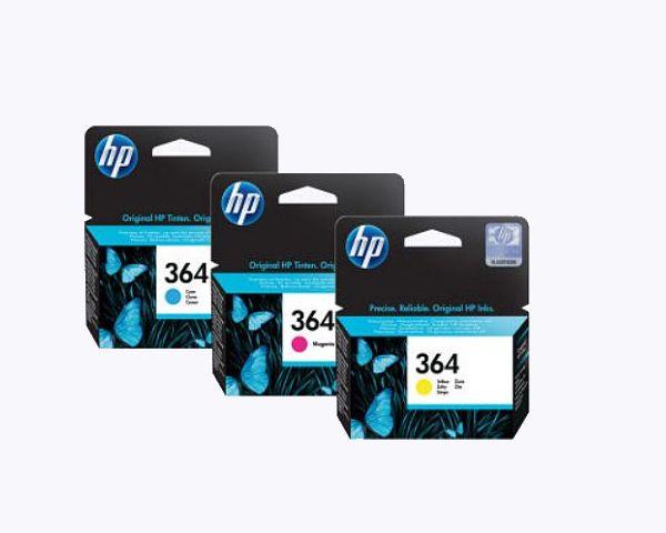 HP Tintenpatronen (Bild: Hewlett-Packard)