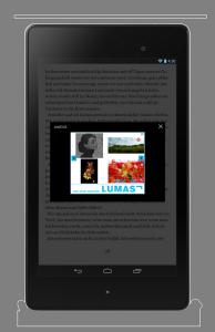 Readfy bietet 15.000 Titel kostenlos an, dafür muss der Leser Werbeeinblendungen in Kauf nehmen (Bild: Readfy)