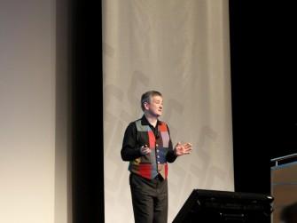 Nick Hunn, CTO von Wifore Consulting (Bild: Andre Borbe).