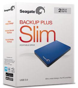 Seagate Backup Plus Slim Packshot