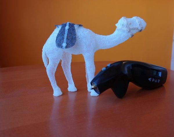Ein mit dem 3Dismo hergestelltes Objekt (Bild: 3Dismo).