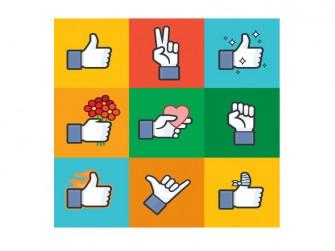 facebook-unterschiedliche-likes