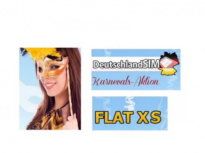 Flat-XS-Karnevals-Aktion