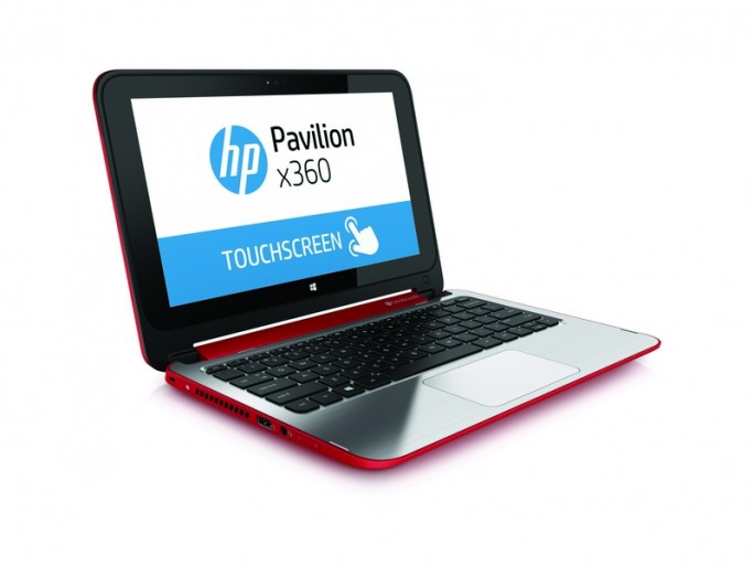 HP-Notebook Pavilion x360 (Bild: HP)