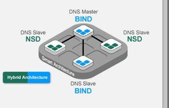 Hybrid-DNS-Struktur