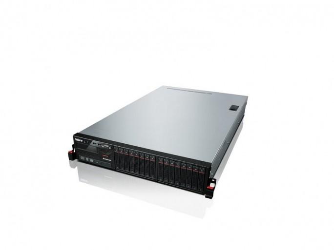 Der ThinkServer RD440 von Lenovo bietet Platz für bis zu zwölf 3,5-Zoll-SATA-Festplatten. (Bild: Lenovo)