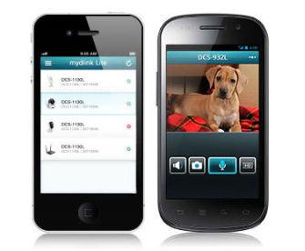 d link erweitert apps und portal zur steuerung seiner kameras. Black Bedroom Furniture Sets. Home Design Ideas