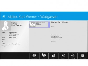 myfactory5 Adressverwaltung