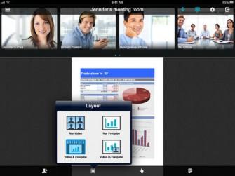 OmniJoin auf dem iPad