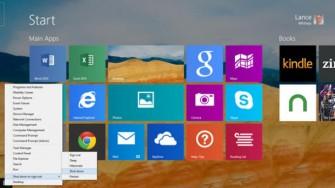 Herunterfahren bei Windows 8.1 Update 1