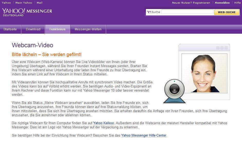 Web Yahoo Messenger