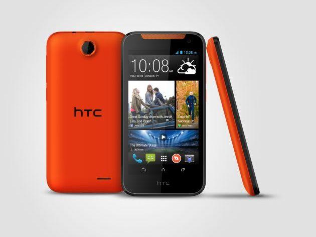 159-Euro-Einsteiger-Android-Smartphone HTC Desire 310 mit Quad-Core-CPU und 4,5-Zoll-Display vorgestellt. (Bild: HTC)