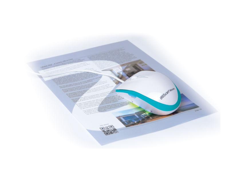 iriscan mouse executive 2 scannt und erkennt dokumente visitenkarten und qr codes. Black Bedroom Furniture Sets. Home Design Ideas