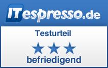 ITespresso Testurteil befriedigend