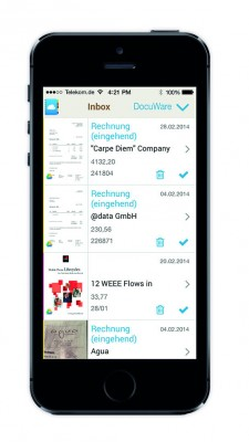 PaperOrganizer Screen