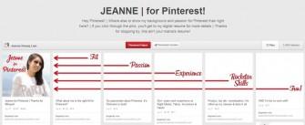 Pinterest-Lebenslauf